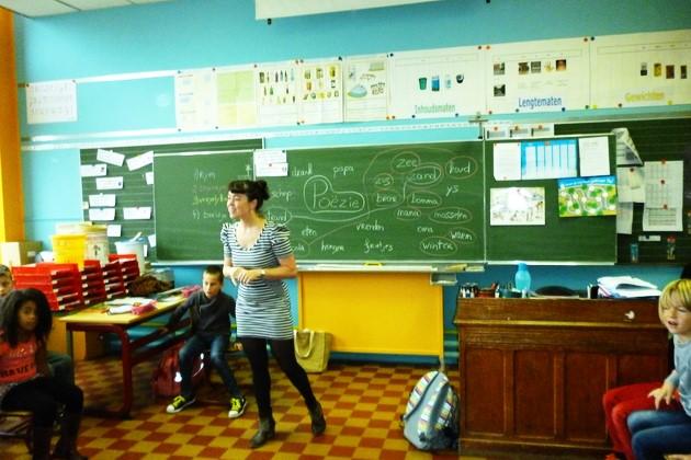 poëzie in de klas